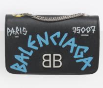 BB Portemonnaie mit Kette Graffiti