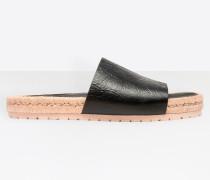Sandalen mit Schnursohle
