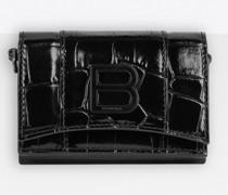 Hourglass Mini-Brieftasche mit Kette