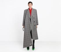 Zweireihiger Hybrid-Mantel