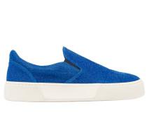 Sneaker aus Materialmix