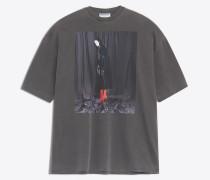 Übergroßes Photoshoot-T-Shirt