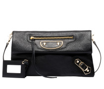 Metallic Edge Handtasche