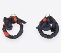 Schal-Ohrringe