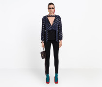 Misplaced Lavalliere Blouse