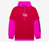 Your Logo Here Hooded T-shirt