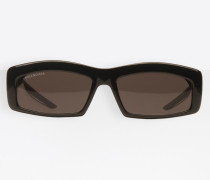 Hybrid Rectangle Sonnenbrille