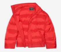 Off-Shoulder Puffer Jacket