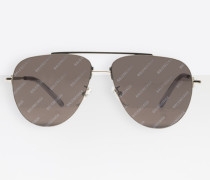 Invisible Aviator Sonnenbrille