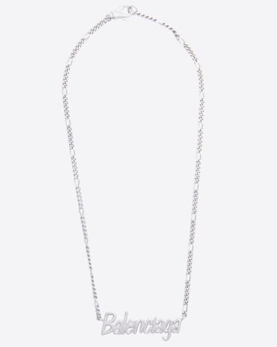 Halskette mit Schriftzug