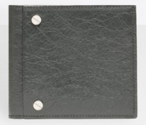 quadratische Brieftasche mit Münzfach