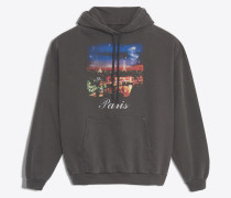 Paris-Kapuzensweatshirt