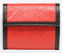 Locker quadratische Brieftasche mit Münzfach