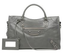 Metallic Edge Handtasche