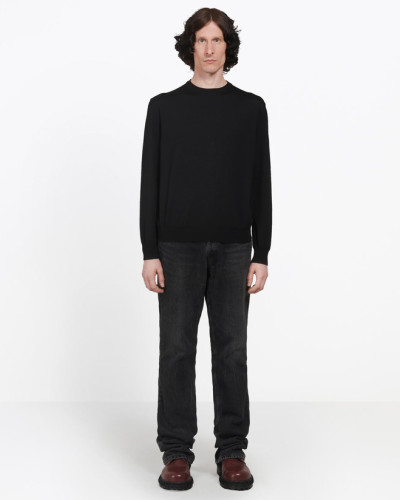Crewneck Jacquard Sweater