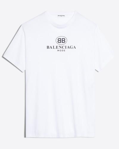T-Shirt BB Balenciaga Mode