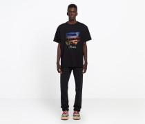 T-Shirt mit Paris-Print