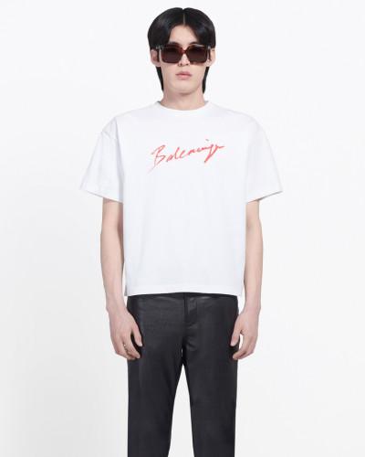 T-Shirt mit Signatur