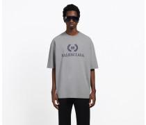 """T-shirt Mit bb Balenciaga""""-print"""