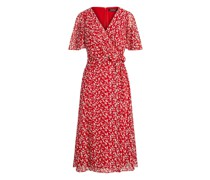 Georgette-Kleid mit Druck