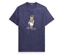 Baumwoll-T-Shirt mit Polo Bear Baumwoll-T-Shirt mit Polo Bear