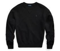 Fleece-Sweatshirt mit Soutache