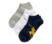 3 Paar Socken mit Big Pony