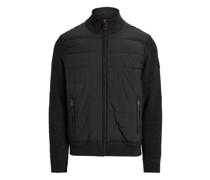 Hybrid-Jacke mit Reißverschluss