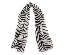 Schal mit Zebra-Druck