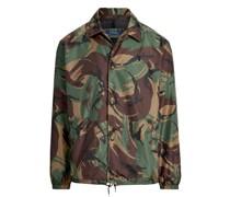 Trainerjacke mit Camouflage-Druck