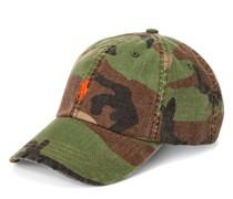 Camouflage-Baseballkappe aus Segeltuch