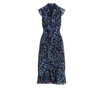 Georgette-Kleid mit Druck Georgette-Kleid mit Druck