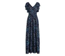 Abendkleid aus Georgette mit Druck Abendkleid aus Georgette mit Druck