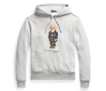 Fleece-Kapuzenshirt mit Preppy Bear