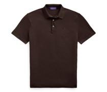 Piqué-Polohemd aus Wolle