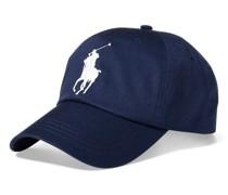 Chino-Baseballkappe mit Big Pony