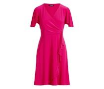 Jerseykleid mit Rüschenbesatz