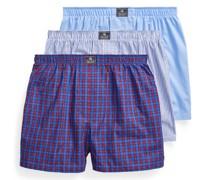 3er-Pack Boxershorts aus Baumwolle
