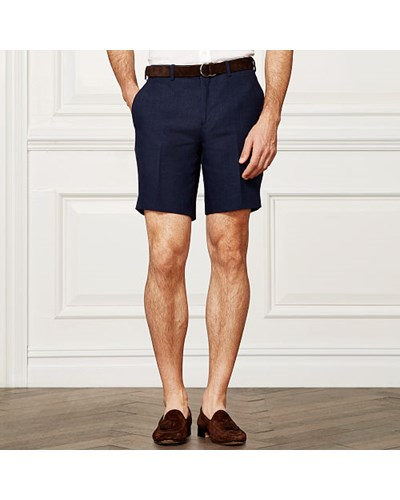 ralph lauren herren purple label leinen shorts reduziert. Black Bedroom Furniture Sets. Home Design Ideas
