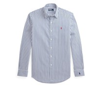 Custom-Fit Popelinehemd mit Streifen