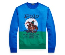 Fleece-Sweatshirt mit Grafik