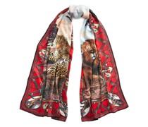 Safari-Schal aus Kaschmir und Seide