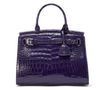 Mittelgroße Alligatorledertasche RL50