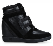 High-Top Sneaker mit Keilabsatz