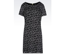 Kleid mit Herzen-Print