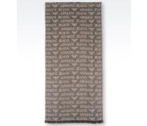 Schal aus Logo-Gewebe