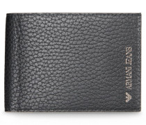 Aufklappbares Portemonnaie mit Logo