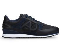 Sneaker aus Wildleder und Funktionsmaterial
