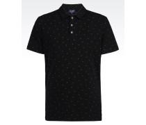 Poloshirt aus Baumwollpikee