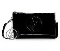 Minitasche aus Kunstlackleder mit Abnehmbarem und Verstellbarem Trageriemen